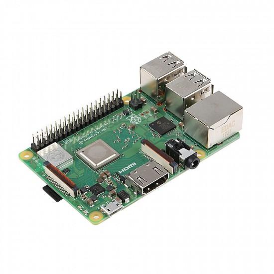 Raspberry Pi 3 Model B+ (plug) Built-in Broadcom 1.4GHz quad-core 64 bit processor, Wifi, Bluetooth and USB Port