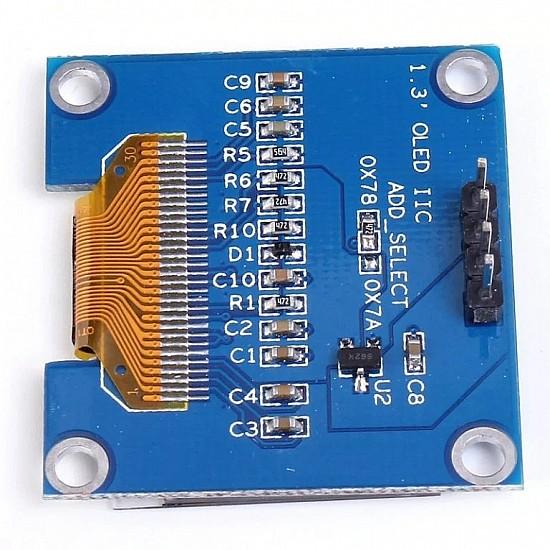 1.3 Inch I2C/IIC WHITE OLED Display Module 4pin