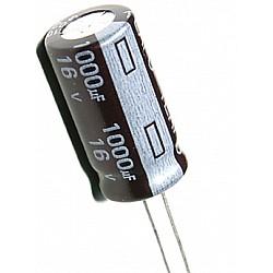 1000uF 16V Electrolytic Capacitor