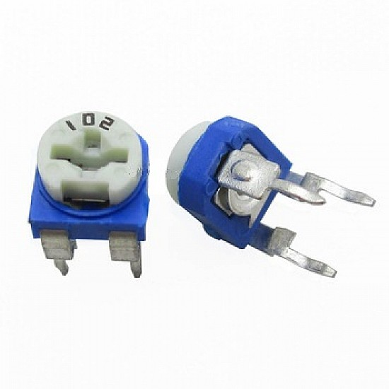 10K Ohm Trimpot Trimmer Potentiometer - 10 Pcs - Electronic Accessories - Electronic Components