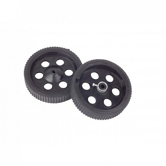 Robot Wheel 11 x 2 cm For Motors Robot Spare Parts