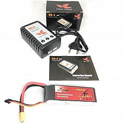 11.1V 2200MAH LiPo Battery With IMax B3 Lipo balance Charger