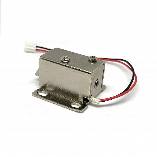 Small Solenoid Lock low power consumption - 12v Electronic Door Lock - Sensor - Arduino