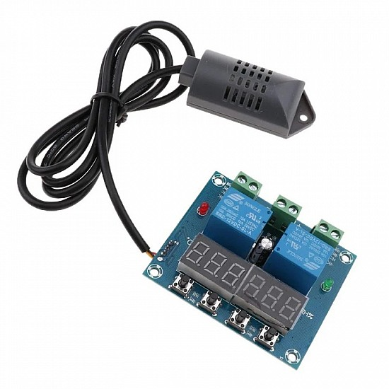 12V DC XH-M452 Temperature and Humidity Controller Module