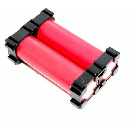 18650 2×1 Battery Cell Spacer Holder