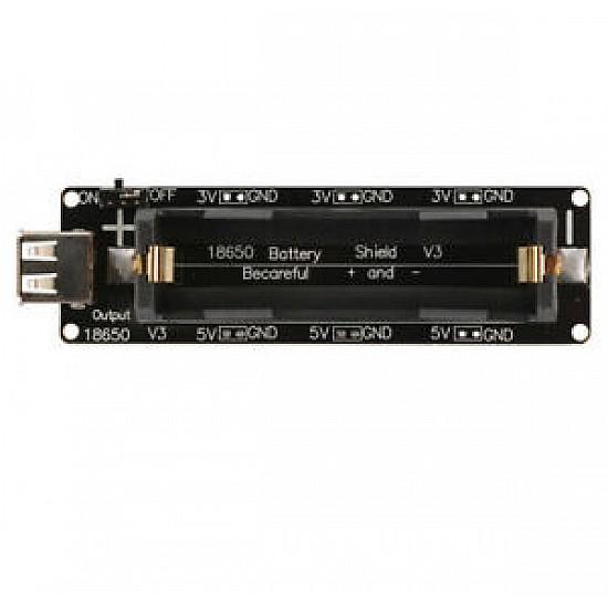 18650 Battery Shield For Raspberry Pi,Arduino ESP8266 - Sensor - Arduino