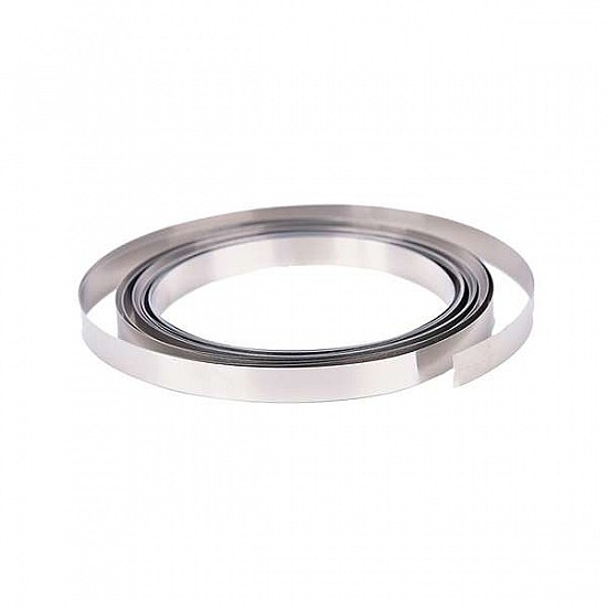 1M Nickel Strip 5mm x 0.1mm Pure Nickel for Battery Connection