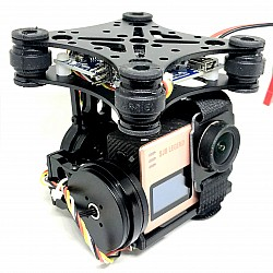 2-Axis Brushless Drone Camera Gimbal with Controller