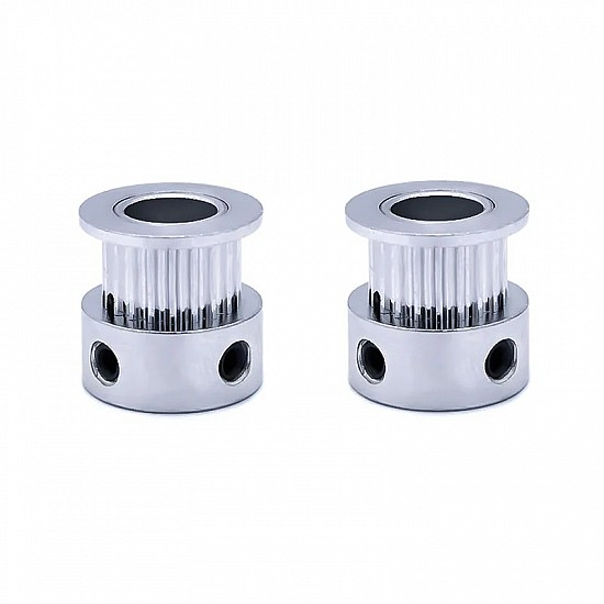 20 Tooth 5mm Bore GT2 Timing Idler Aluminum Pulley For 6mm Belt