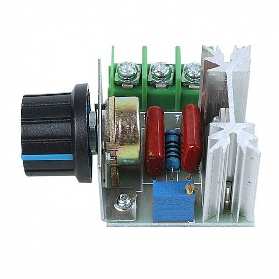 2000W 220V SCR Voltage Regulator Dimmers Speed Controller Thermostat