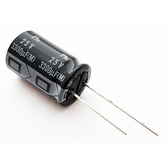 3300uF 25V Electrolytic Capacitor