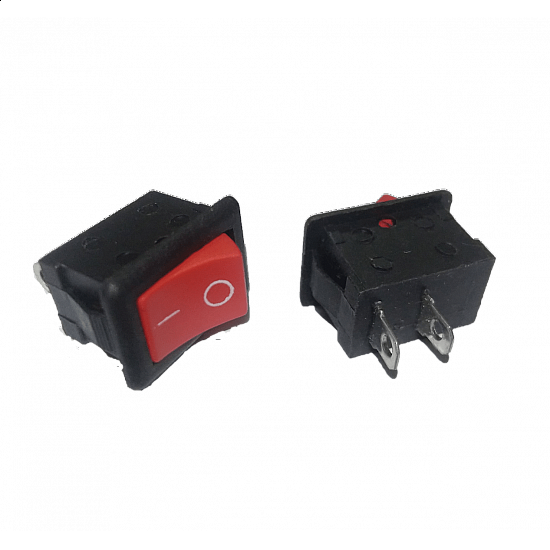 3A 250V AC SPST ON/OFF Rocker Switch