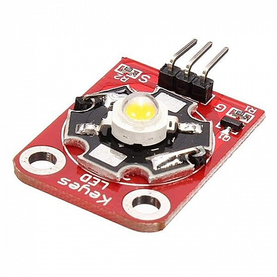 3W High Power LED Module for Arduino