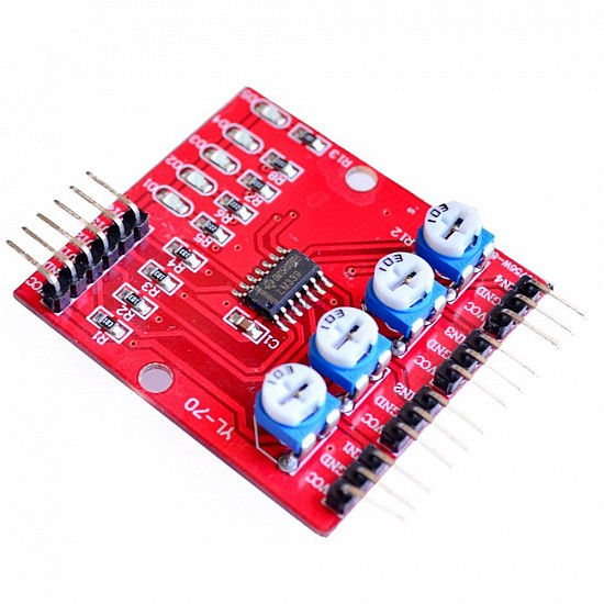 4 Channel Infrared Tracing Module