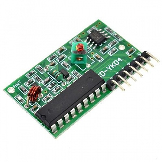 4 Channel Wireless Four Button RF Remote Control Transceiver Module (Mode: Non-Locking)