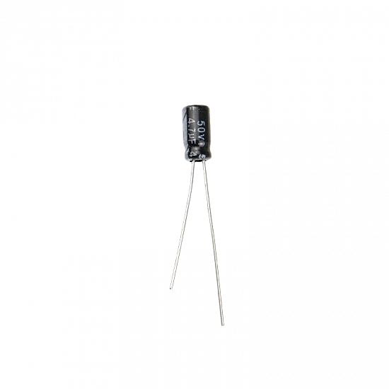 4.7uF 50V Electrolytic Capacitor