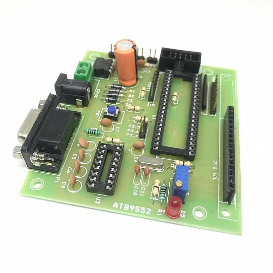 40 Pin Project Board For Atmel Microcontroller