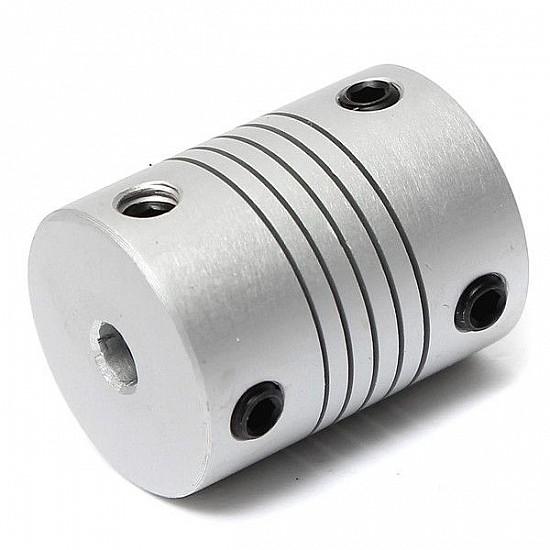 4mm X 4mm Aluminum Flexible Shaft Coupling