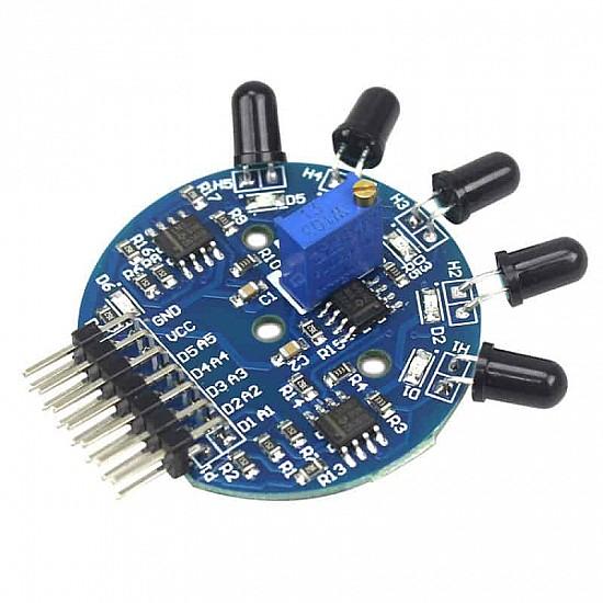 5 Channel IR Flame Detector Sensor - Sensor - Arduino
