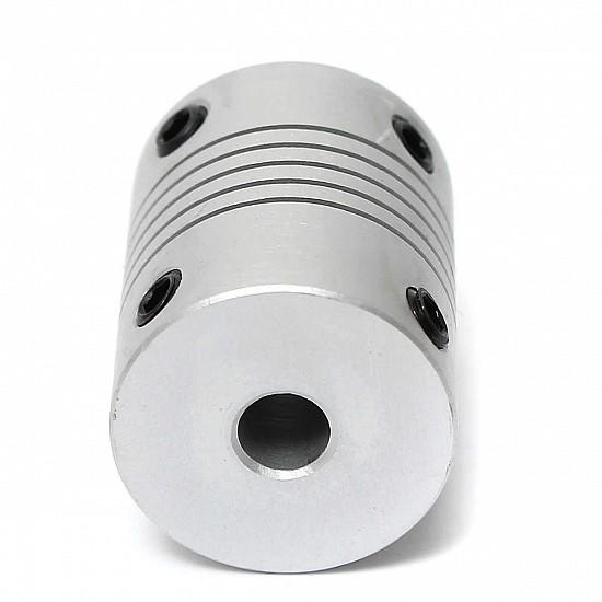 5mm X 5mm Aluminum Flexible Shaft Coupling