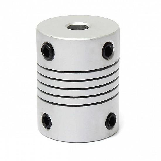 5mm X 6mm Aluminum Flexible Shaft Coupling