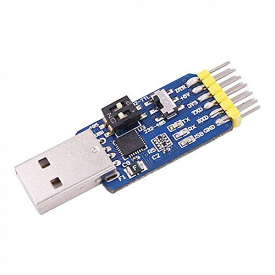 6 in 1 CP2102  USB to TTL RS232 USB TTL to RS485 Mutual Convert Module
