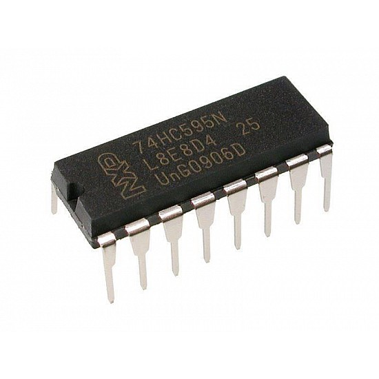74HC595 Serial to Parallel Shifting IC - ICs - Integrated Circuits & Chips - Core Electronics