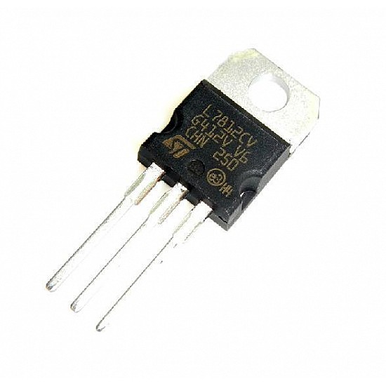 7812 Voltage Regularor IC - ICs - Integrated Circuits & Chips - Core Electronics