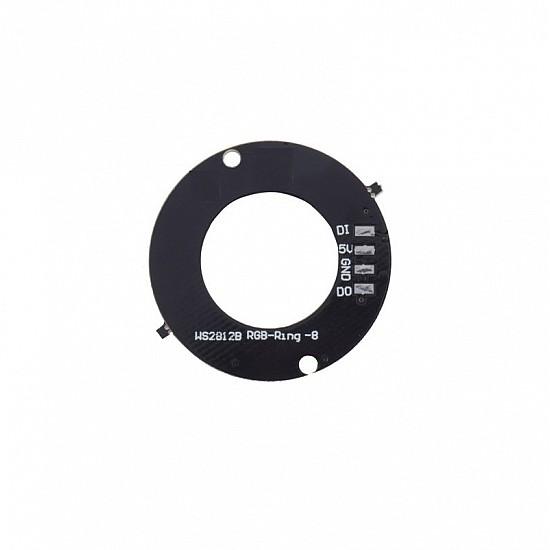 8 Bit WS2812 5050 RGB LED Built-in Full Color Driving Lights Circular Development Board