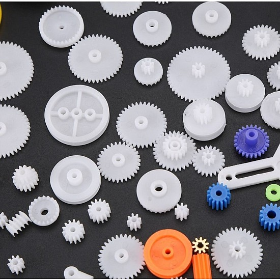 85 Types of Assorted Gears Pack