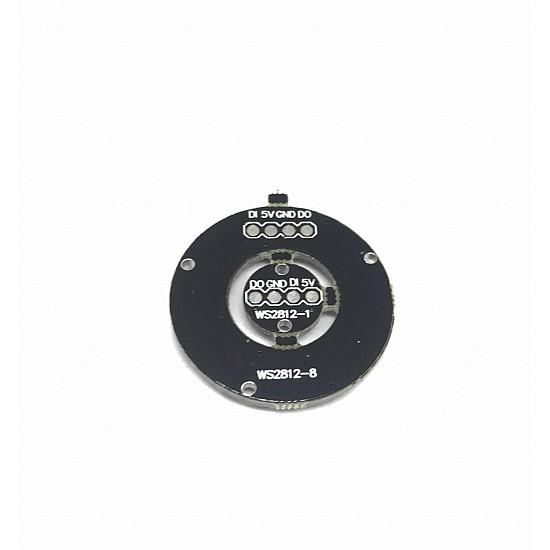 9Bit WS2812B 5050 RGB LED Built-in Full Color Driving Lights Circular Development Board