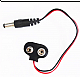 Battery 9V Snap Connector To DC Barrel Jack Adapter - Robot Spare Parts -