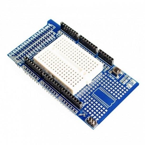 Arduino Mega Protoshield + Mini Breadboard Sensor Arduino