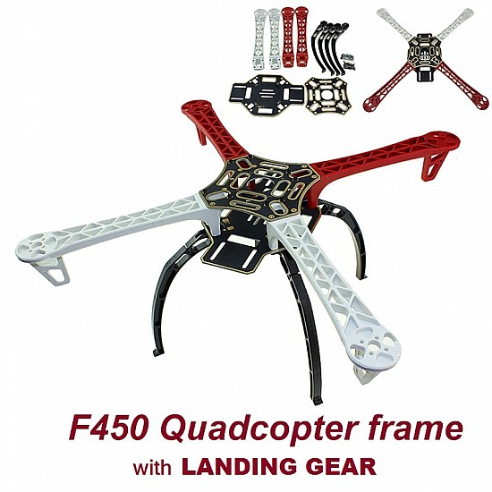 Quadcopter F450 Frame with Landing Gear