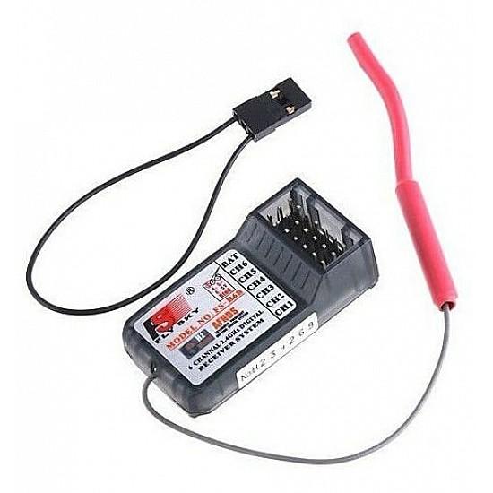 FlySky FS-CT6B 2.4G 6CH Radio Set System with RX FS-R6B receiver. - Rc Remote - Multirotor