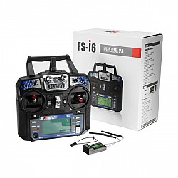 FlySky FS-i6 2.4G 6CH AFHDS Transmitter With FS-iA6B Receiver for RC FPV Drone