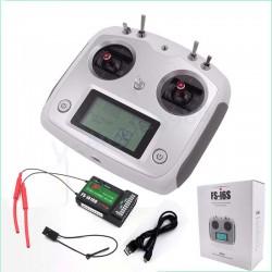 Flysky FS-i6S 2.4G 10CH AFHDS Transmitter With FS-iA10B 10CH Receiver