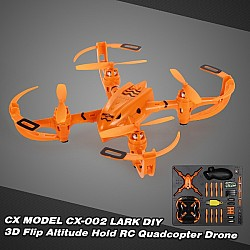 LARK DIY RC toy 2.4G 6-axis gyro quadcopter drone kit