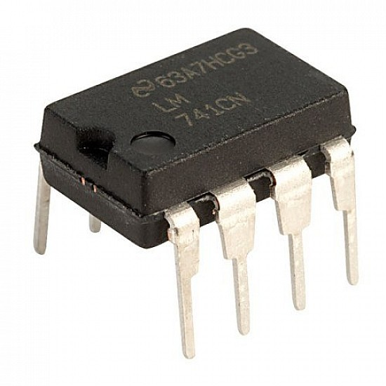 LM741 Operational amplifier IC - ICs - Integrated Circuits & Chips - Core Electronics