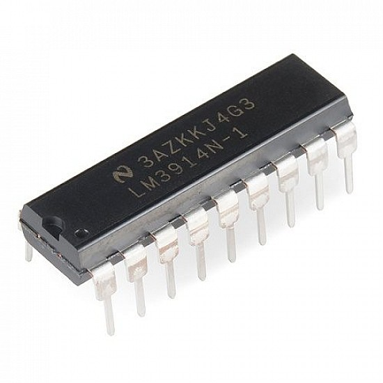 LM3914 analog voltage level DOT/BAR Display driver IC - Other -