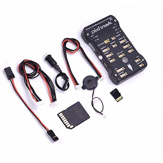 Pixhawk 2.4.8  PX4 32 Bit Flight Controller with Safety Switch and Buzzer for Drone - Flight Controller - Multirotor
