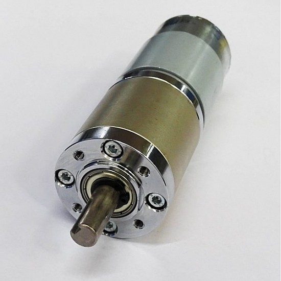 Planetary DC Geared Motor Mega Torque 12V DC 350RPM - DC Gear Motor - Motor and Driver