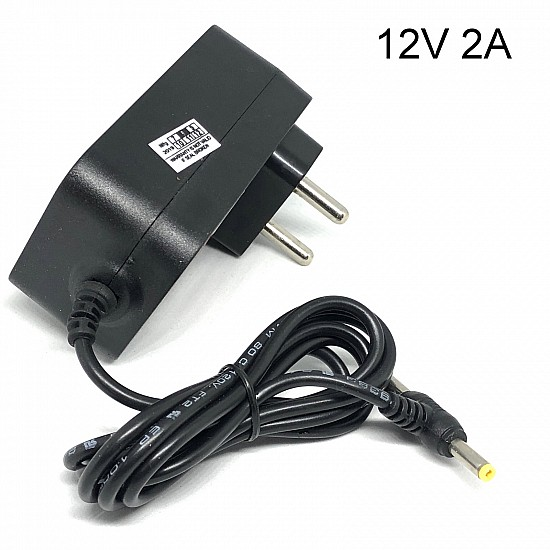 12V 2A DC Power Supply Adapter - Battery and Power Supply -