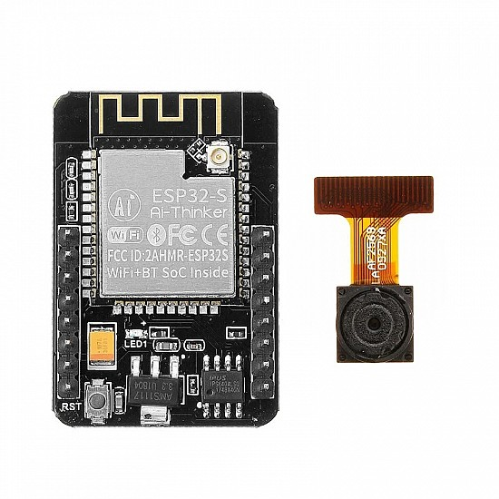 Ai-Thinker's ESP32 CAM Bluetooth WiFi with OV2640 Camera Module