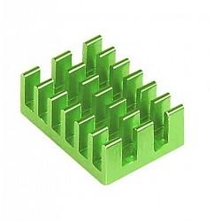 Aluminum Heatsink Green for Raspberry Pi
