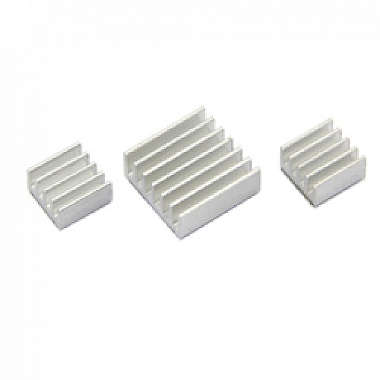 Aluminum Heatsink Kit for Raspberry Pi