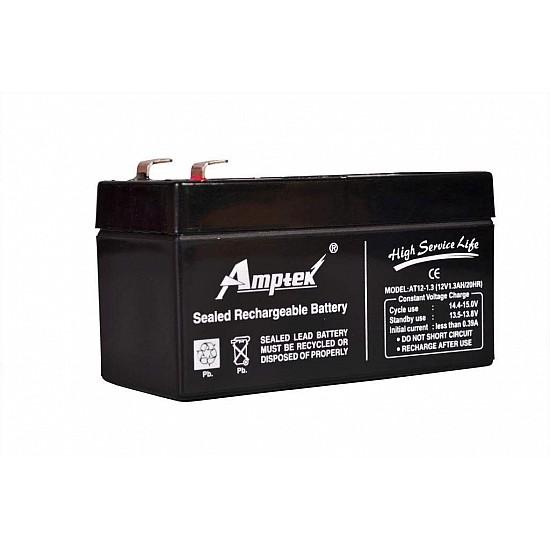 Amptek 12v 1.3Ah SMF/VRLA Battery