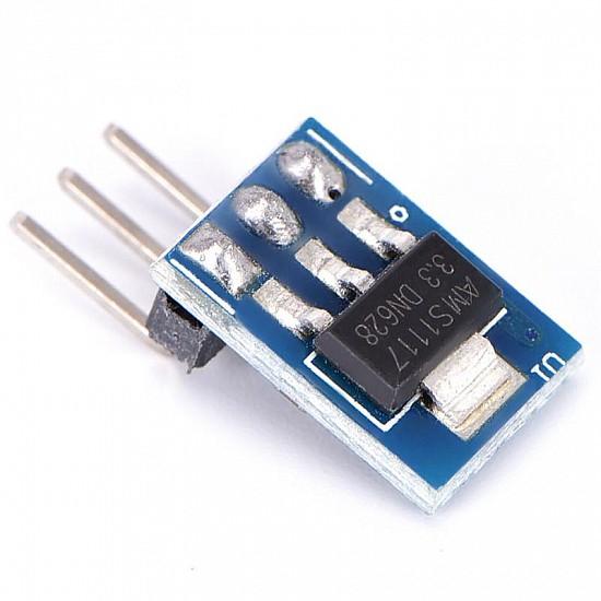 AMS1117-3.3 LDO 800mA DC 5V to 3.3V Step-Down Power Supply Module