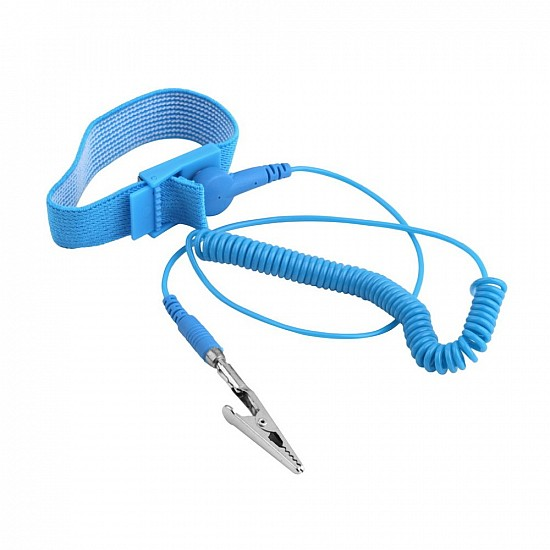 Anti Static ESD Wrist Strap Elastic Band with Clip