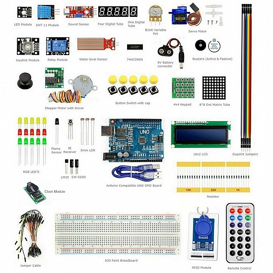 Arduino RFID Learning Kit V5 with Instruction CD & UNO SMD